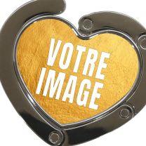 Accroche-sac photo coeur