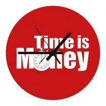 Horloge de bureau en MDF diamètre 20 cm - OFF