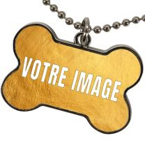 Pendentif os personnalisé photo