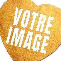 Magnet photo frigo coeur 75 pièces