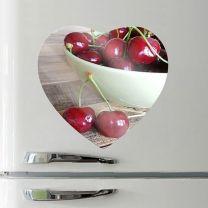 Magnet photo coeur en céramique 68 mm - OFF