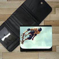 Portefeuille photo cuir 12 x 10 cm - OFF