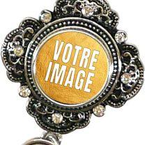 Collier photo avec pendentif gothique