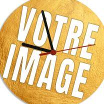 Horloge personnalisée photo diamètre 20 cm