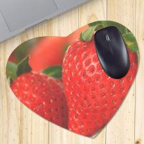 Tapis de souris photo coeur 23,5 x 19,5 cm - OFF