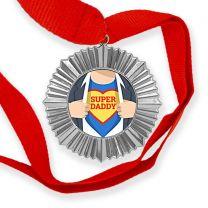 Médaille personnalisée photo Argent - OFF