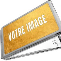 Miroir rectangulaire photo avec bloc note