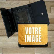 Portefeuille photo cuir 13,7 x 10,7 cm
