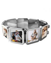 Bracelet 9 plaques - off
