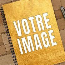 Cahier photo personnalisé spirale A5