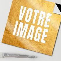Magnet photo carré 45 mm autoadhésif