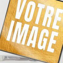 Magnet photo carré métallique 55 mm