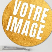 Magnet photo grand rond 9,5 cm