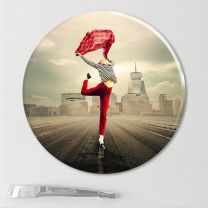 Magnet photo rond 5 cm - OFF