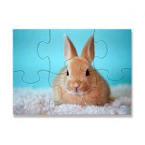 Puzzle photo en carton 20 x 14 cm 6 pièces OFF