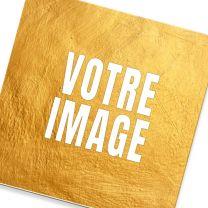 Sous-verre photo carré en MDF