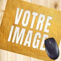 Tapis de souris personnalisé luxe 5 mm
