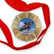 Médaille personnalisée photo Or - OFF