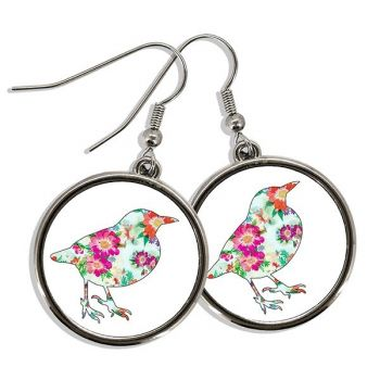 Boucles oreilles photo pendantes