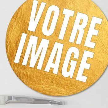 Magnet photo rond 4,5 cm