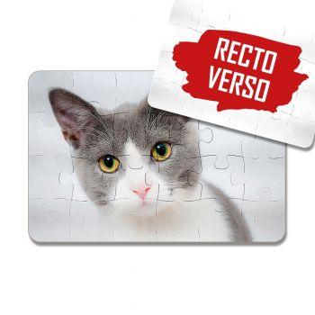 Puzzle photo plastique 24 pièces