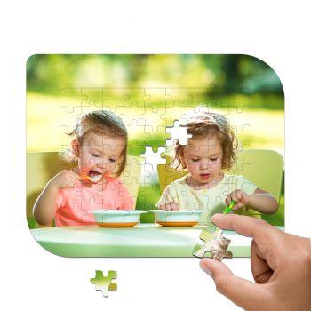 Puzzle photo cadre 63 pièces