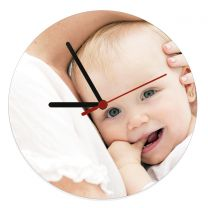 Horloge murale personnalisée photo