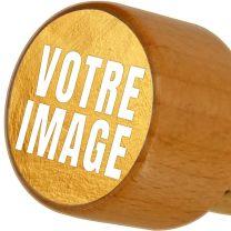 Bouchon de bouteille photo personnalisé