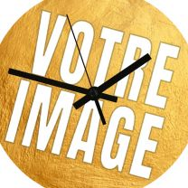 Horloge de bureau photo diamètre 20cm
