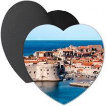 Magnet photo grand coeur 95 mm