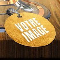 Marque-verre personnalisé photo