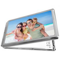 Miroir rectangulaire photo avec bloc note