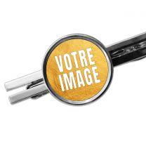 Pince à cravate personnalisée photo