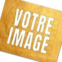 Puzzle cadre photo personnalisé 63 pièces
