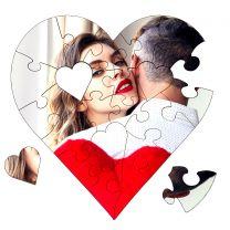 puzzle cœur personnalisé