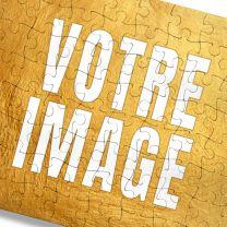 Puzzle photo personnalisé en carton 80 pièces