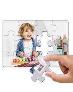 Puzzle photo personnalisé en carton - 12 pièces