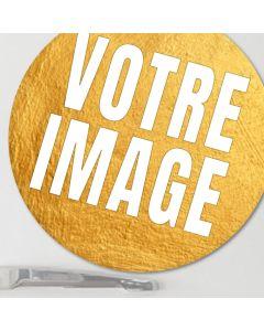 Magnet photo rond 5 cm