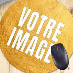Tapis de souris photo rond 20 cm 3 mm