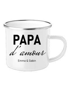 Mug personnalisé papa maman