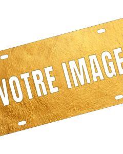Plaque de porte photo