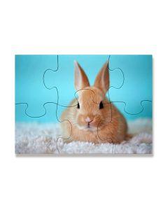 Puzzle photo en carton 6 pièces