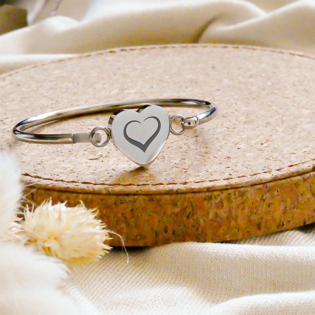 Le bracelet jonc personnalisé