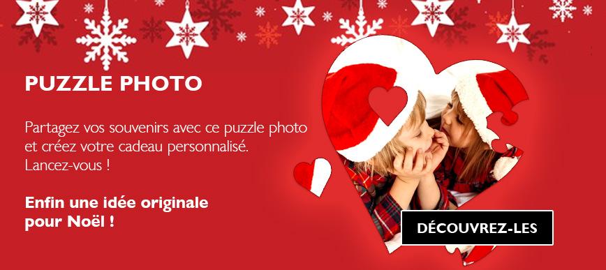 Puzzle personnalisé avec votre photo