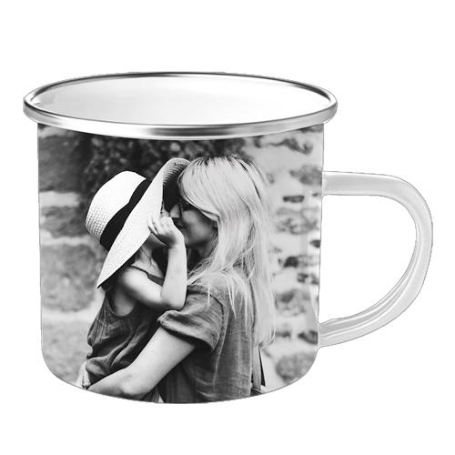 cadeau fête des mères tasse personnalisée photo