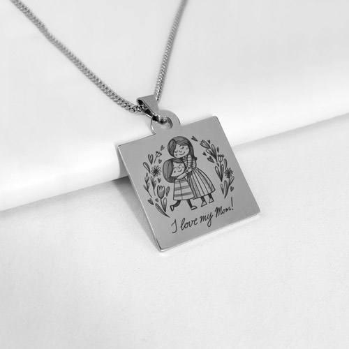 pendentif maman cadeau personnalisé fête des mères 2021
